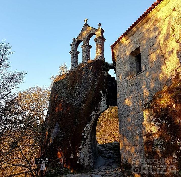 Mosteiro de San Pedro de Rocas. Esgos. Ourense