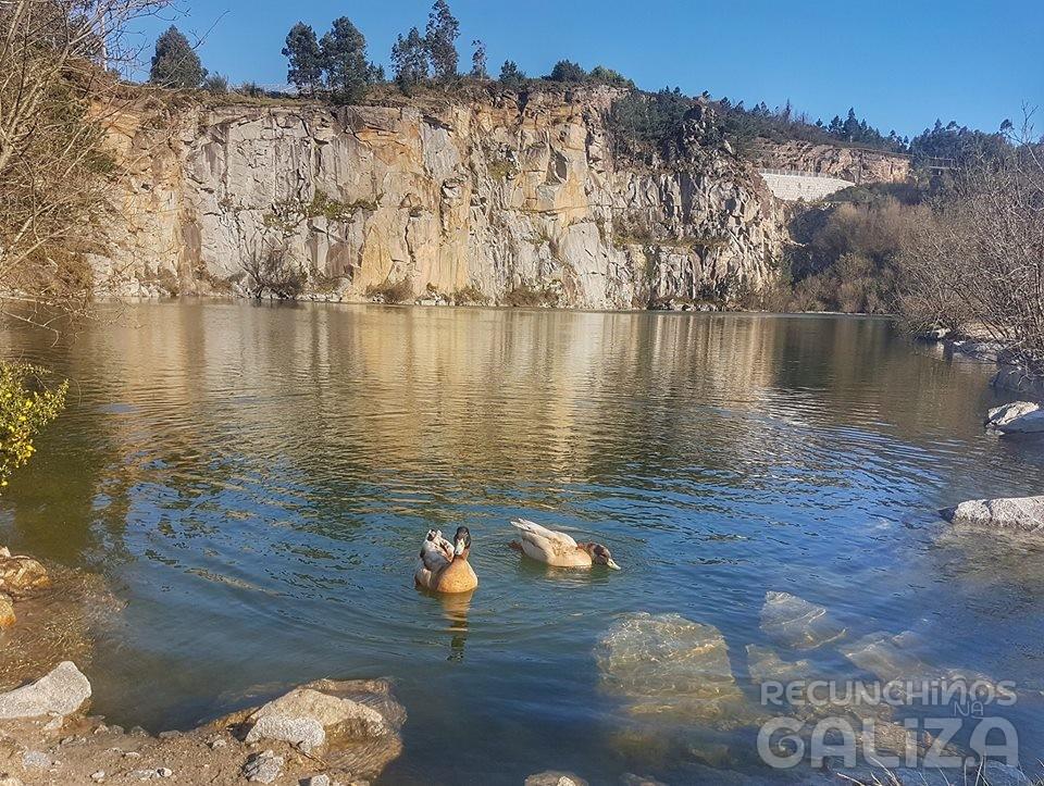 Lagoa das Pedras Miúdas. Catoira. Pontevedra